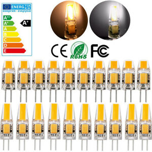 Dimmbar-3W-5W-G4-LED-COB-Lampe-Stiftsockel-Birne-Warmweiss-360-ACDC-12V-Kaltweiss