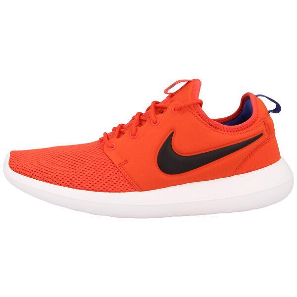 size 40 cc81a 72b66 Nike Roshe Two Scarpe Running Uomo Arancione (max Orange schwarz-weiß) 42  EU   eBay