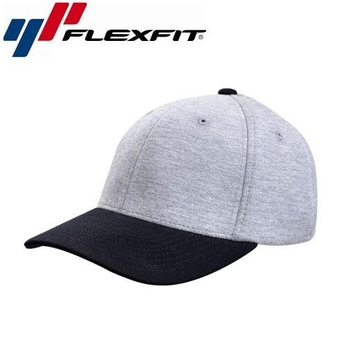Flexfit Jersey Classic Baseball Cap L//XL Schwarz Grau
