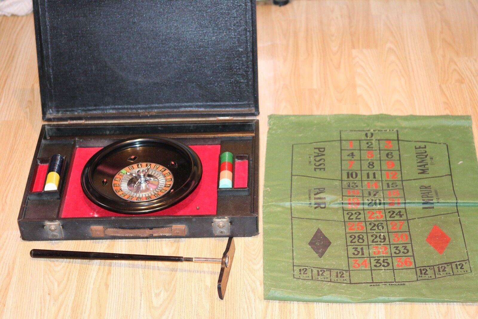 K&K LTD Vintage Bakelite Roulette Wheel Set