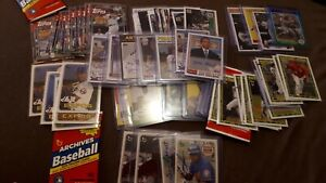 2019-Topps-Archives-Inserts-Autographs-Parallels-You-Pick-UPick-From-List-Lot