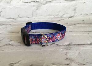 Dog-Collar-Retro-Paisley-Pattern-Unique-Funky-Pet-Supply-Gift-Handmade