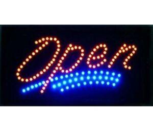open led panneau luminaire affichage enseigne au n on publicit plaque lumineuse ebay. Black Bedroom Furniture Sets. Home Design Ideas