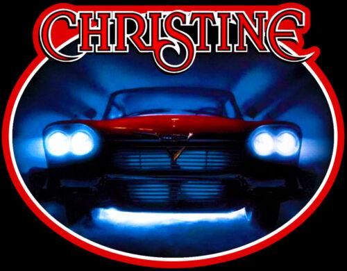80/'s Stephen King Horror Classic Christine Poster Art custom tee AnySizeAnyColor