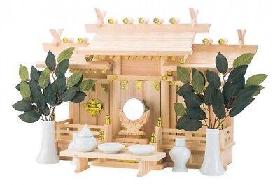 Other Asian Antiques Japonés Shinto Altar Kamidana Elonu Cypress Madera Talla M Juego Envío Rápido Delicacies Loved By All