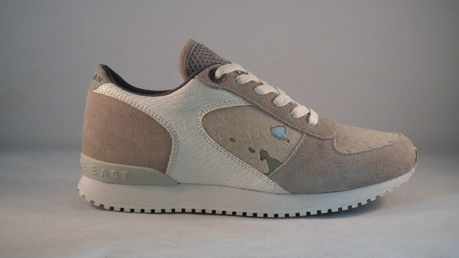 Nuova religione GRAND Sneaker Scarpe Da Ginnastica / Con Finta Pelliccia Naturale / Ginnastica Bianco 2014 93273a