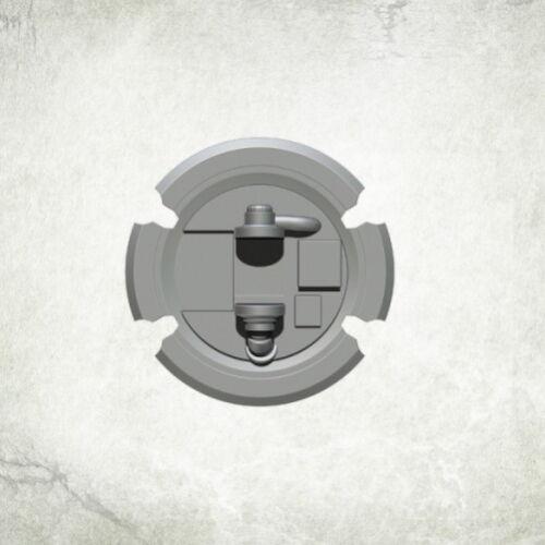 Bitz bits kromlech Resin KRCB 217 5 Sons Of Thor Praetorian Shields