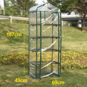 Awe Inspiring Details About Greenfingers 5 Tiers Greenhouse Tunnel Plant Stand Garden Grow Sheds Green House Download Free Architecture Designs Jebrpmadebymaigaardcom