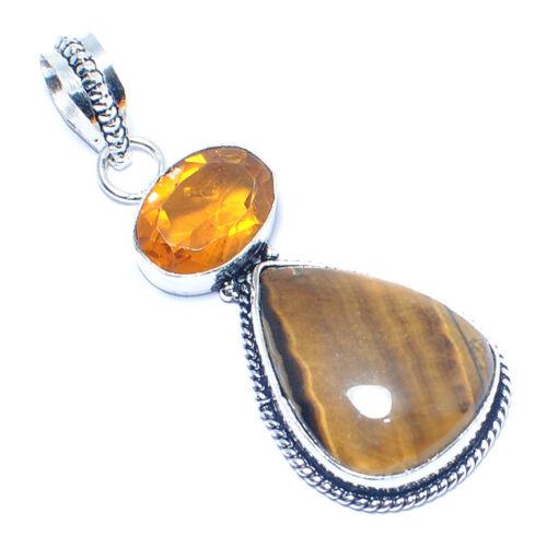 Free Shipping mix-Stone 925 Silver Gemstone Ethnic Jewelry Pendant Gorgeous !!