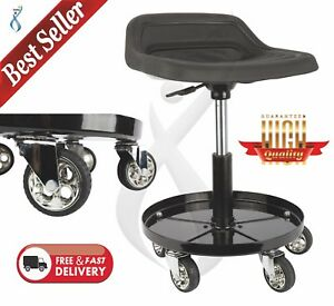 Remarkable Details About Mechanics Creeper Adjustable Rolling Creeper Seat Mechanic Stool Chair Garage Andrewgaddart Wooden Chair Designs For Living Room Andrewgaddartcom
