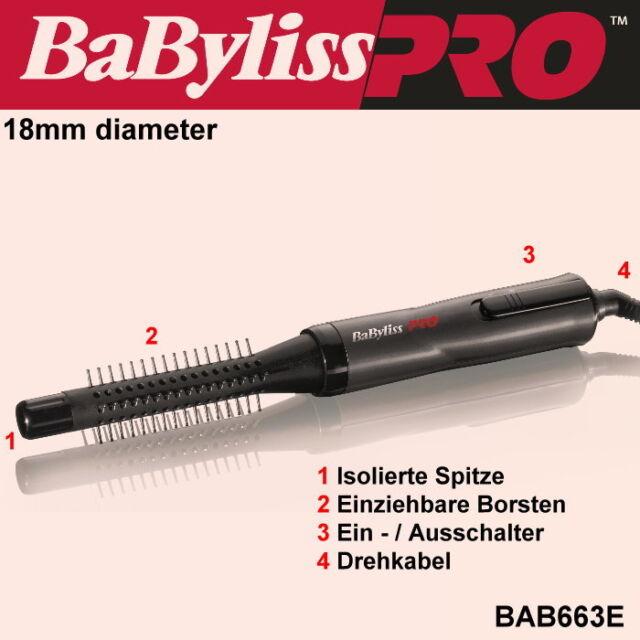 BABYLISS PRO HOT Brush Magic stylair Fönbürste 18mm bab663e