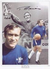 "Chelsea legend Ron ""Chopper"" Harris signed 16 x 12 print -  with COA"