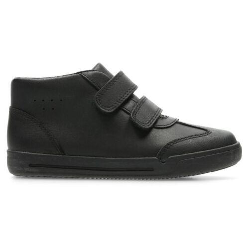 Boys Clarks Hi Top School Shoes Mini Idol
