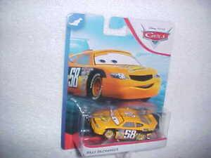 "HW DISNEY PIXAR CARS ""BILLY OILCHANGER"" VHTF NEW DIE CAST CAR"