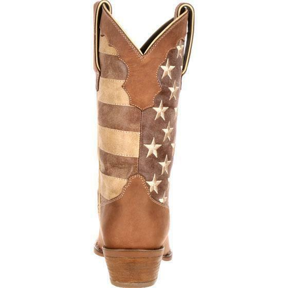 Durango Durango Durango DRD0131 12  Crush Women's Distressed US Union Flag Cowgirl Western Boots 282140