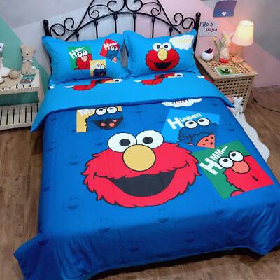 Sesame Street Elmo 100 Cotton Bedding, Elmo Bedding Queen Size