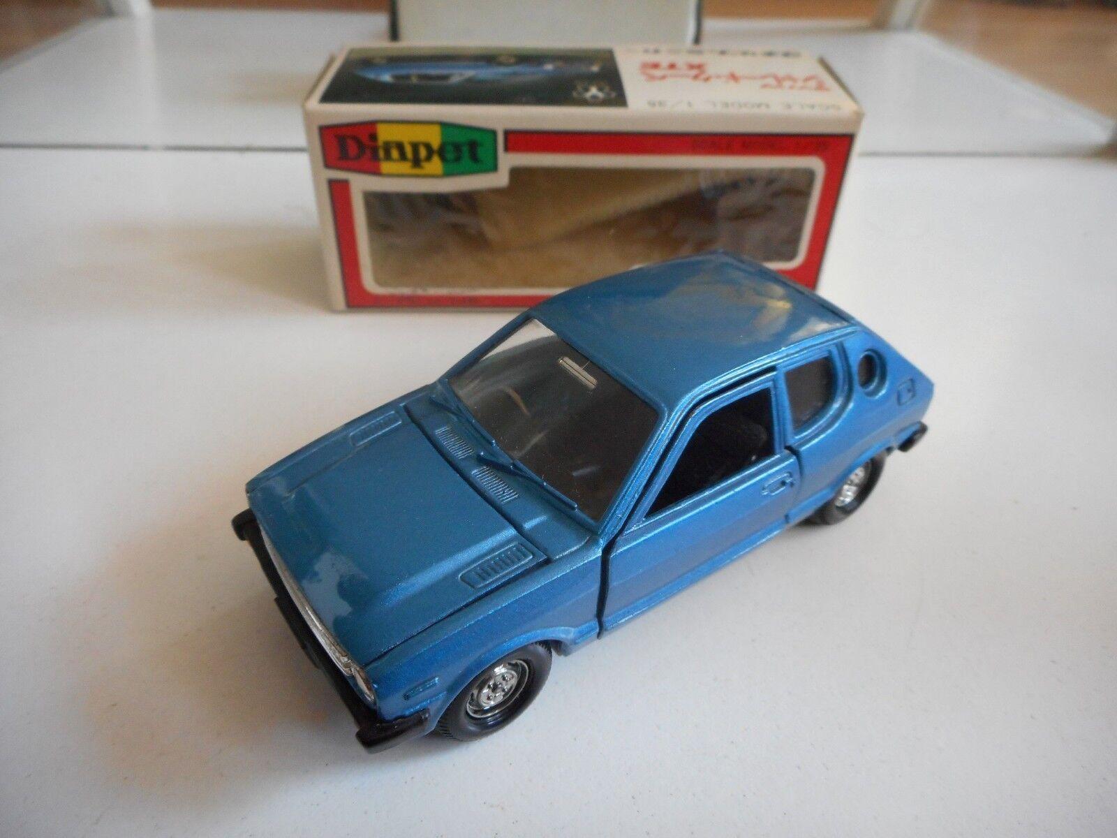 Yonezawa Toys Diapet Daihatsu Charade Charade Charade Coupe XTE in bluee on 1 40 in Box c0827c