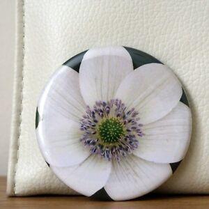 Mirror White Handbag Make Up Cosmetic Small Pocket Flower Travel Purse Ladies - Hull, United Kingdom - Mirror White Handbag Make Up Cosmetic Small Pocket Flower Travel Purse Ladies - Hull, United Kingdom