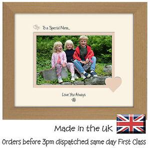 LibéRal Special Nana Cadre Photo Cadeau Sentiments 6x4 Lsht Photos Dans Un Mot-afficher Le Titre D'origine