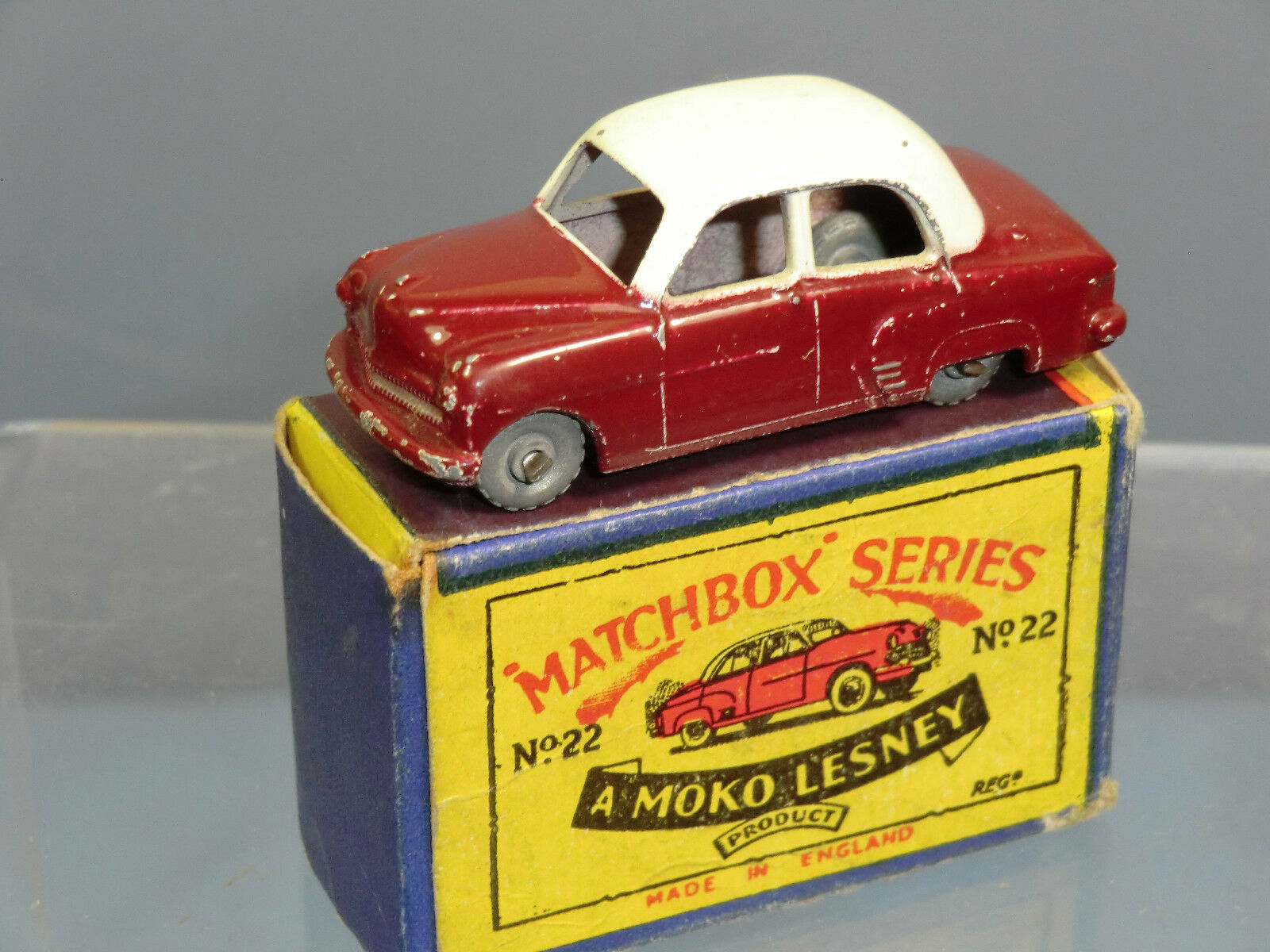 Matchbox moko lesney modell no.22a vauxhall cresta vn mib