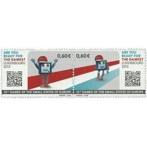 Luxembourg-2013-Sports-Jeux-des-Petits-etats-d-039-Europe-SC-1357-neuf-sans-charniere