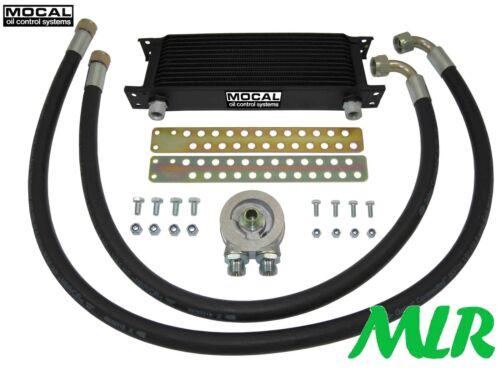 FIAT TWIN CAM RWD 124 125 132 131 TC MOCAL 13-19 ROW ENGINE OIL COOLER KIT SJ