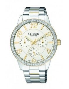 Citizen-ED8124-53A-elegant-Ladies-Crystal-two-tone-Watch-WR30m-RRP-295-00