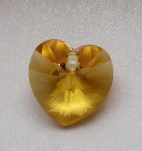6202 6228 transparente FARBWAHL 1 Swarovski® Herz HEART PENDANT 14,4mm Art