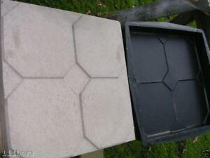 5-Stk-Kunststoff-Formen-72-2-Bodenplatten-Pflastersteine-Giessform-Form