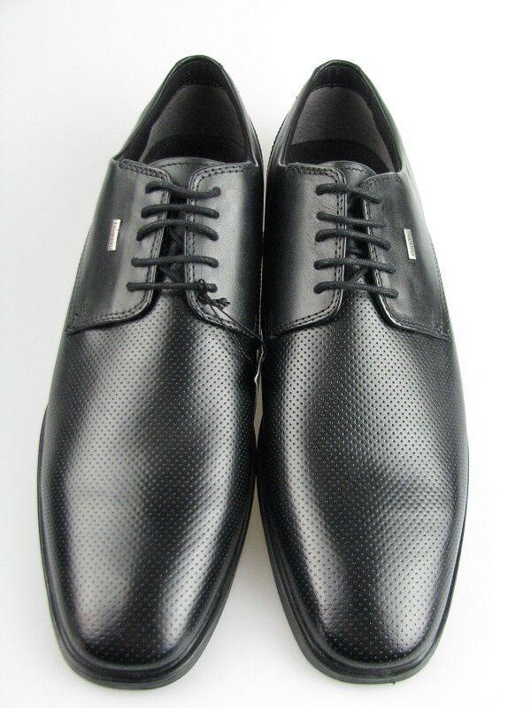 Bugatti 313-16002 Herren Business Schuh schwarz Leder Gr.44