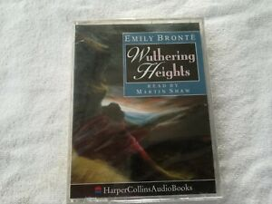 Emily-Bronte-Wuthering-Heights-cassette-audiobook-3-hours-Harper-Collins-read-by