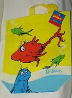 Dr. Seuss One Fish, Two Fish, Red Fish, Blue Fish Tote/gift Bag-nwt