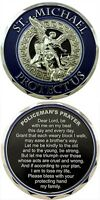 St Michael Protect Us Policeman's Prayer Challenge Coin - Individual
