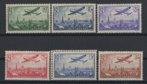 i129296-FRANCE-AIRMAIL-Y-amp-T-8-13-MINT-MNH-COMPLETE-CV-350
