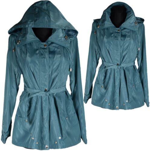 Giacca di transizione giacca cappotto cappuccio palloncino 38 40 42 48 50 52 54 L XL XXL Trench