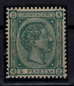 P133275-SPAIN-ALFONSO-XII-EDIFIL-170-MINT-NO-GUM-CERTIFICATE-CV-810