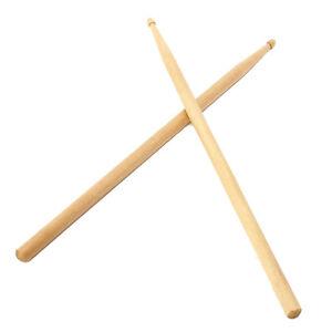 1-Pair-5A-Maple-Drum-Sticks-Wood-Wooden-Tip-Band-Musical-Instrument-Drumstick-SK