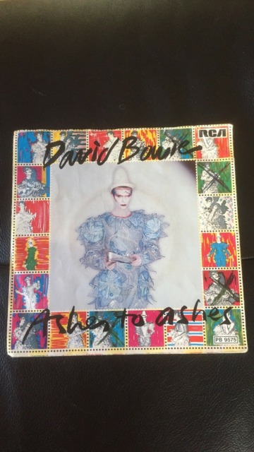 Single, David Bowie, Ashes To Ashes, Rock, Flot