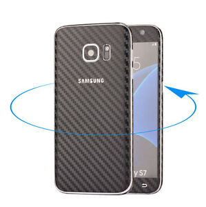 Ultra-Thin-Frosted-Carbon-Fibre-Full-Body-Case-Sticker-For-Samsung-S7-amp-S7-Edge