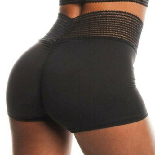 Womens Booty Scrunch Yoga Shorts Scrunch Sports Hot Pants Booty Fitness Briefs