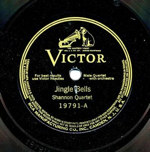SHANNON-QUARTET-on-c-1937-Victor-19791-Jingle-Bells-Recorded-in-1925