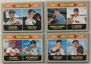 2019-Topps-Heritage-Then-amp-Now-Lot-PYC-Complete-Your-Set
