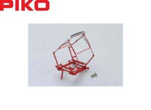 Piko-H0-56150-Scherenstromabnehmer-Pantograph-SBS-10-rot-NEU-OVP