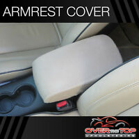 Ford F-150 (f4f) Tan Armrest Cover For Console Lid 2010-2013