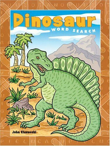 Dinosaur Word Search,Jean Joachim