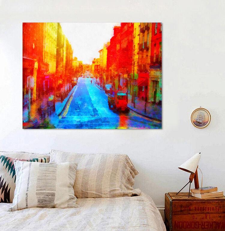 3D Sonnenschein Straße 608 Fototapeten Wandbild BildTapete AJSTORE DE Lemon