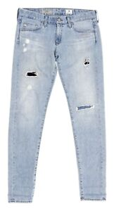 Womens-AG-Adriano-Goldschmied-THE-NIKKI-Jeans-Relaxed-Skinny-STRETCH-JEANS-27-R