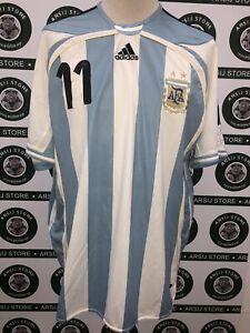 maglia-calcio-ARGENTINA-TEVEZ-shirt-maillot-camiseta-trikot-TG-XL-2006