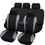 10-Part-Universal-Car-Seat-Covers-Front-Rear-Head-Rests-Full-Set-Auto-Seat-Cover miniature 19