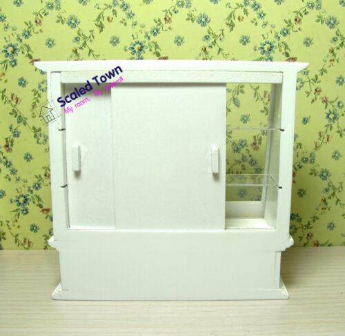 1//12 Dollhouse Miniature Food Bakery Display Shelf Cabinet Showcase shop counter